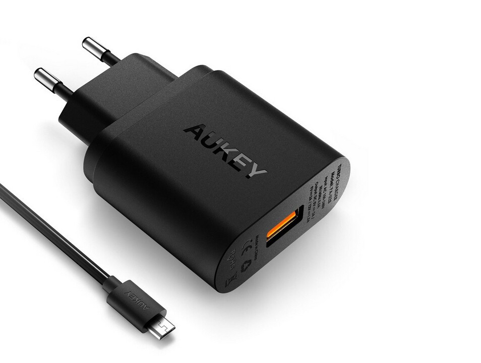 VOXLINK fasr charging 5V 3A USB type c charger adapter(Eu plug/Us plug optional)