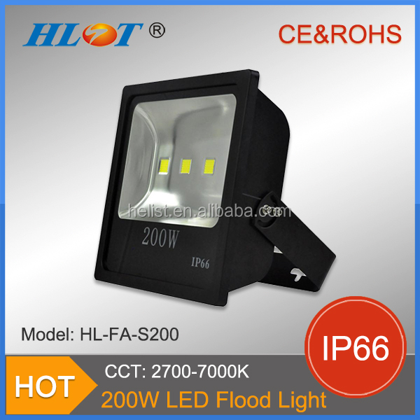 High Lumen 50W ultra thin SMD chip IP65 outdoor led flood light ultra slim design frosted appearance 200w led flood light
