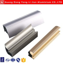 Hot sale anodized extruded aluminum rail and aluminium flooring profiles YLJ-61553