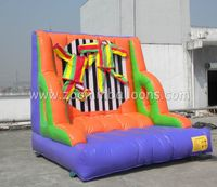 Cheer Amusement inflatable rock climbing wall for sale Z5003