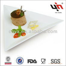 Y1300A B C New White Durable Porcelain Cheese Plate