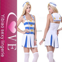 OEM accept blue style fantasy costume women carnival sailor costume