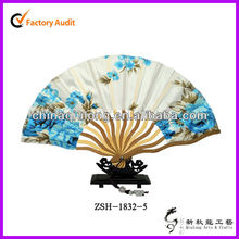 Japanese bamboo fan, handicraft bamboo fan customized pretty bamboo fan for wedding for gift