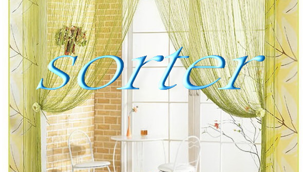 fashionable decorative fringe string curtain