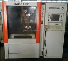 CHARMILLES ROBOFIL 390P / Used Wire cutting edm machine