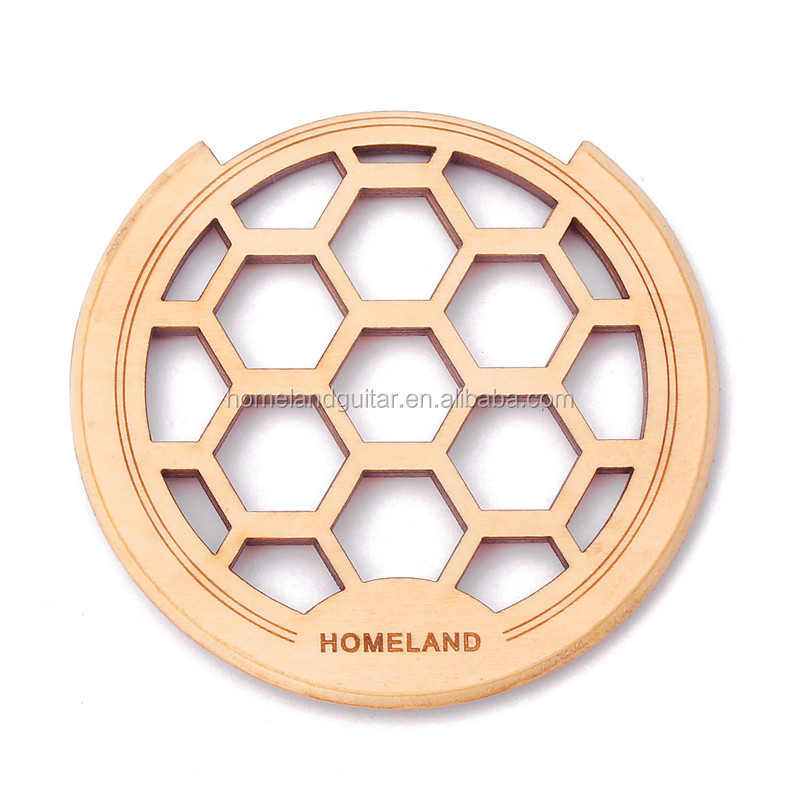 Carved Wooden Acoustic Guitar Sound Hole Cover Exclusive 41,42-Inch Guitar Sound Hole Block