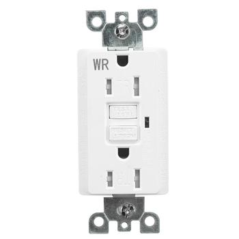 Weather Resistant WR GFCI GFI Receptacle Outlet, 15A or 20A