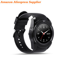 Hot Sales 2017 V8 Bluetooth Smart Watch Mobile Phone Android Dz09 Sport Band Sim Kids Ce Rohs Wear U8 China Factory Oem