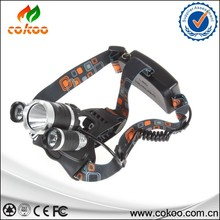 Hot!! LED Head Torch 3x XM-L L2 6000 Lm Rechargeable Headlamp 3 L2 Outdoor Headlight linterna frontal+ 18650 battery /Charger