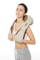 Shiatsu Kneading Neck Shoulder Electric Body Massager for Home Office Car