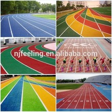 Rubber Running Track Surface For School And Sports Court -g-y-150602-4