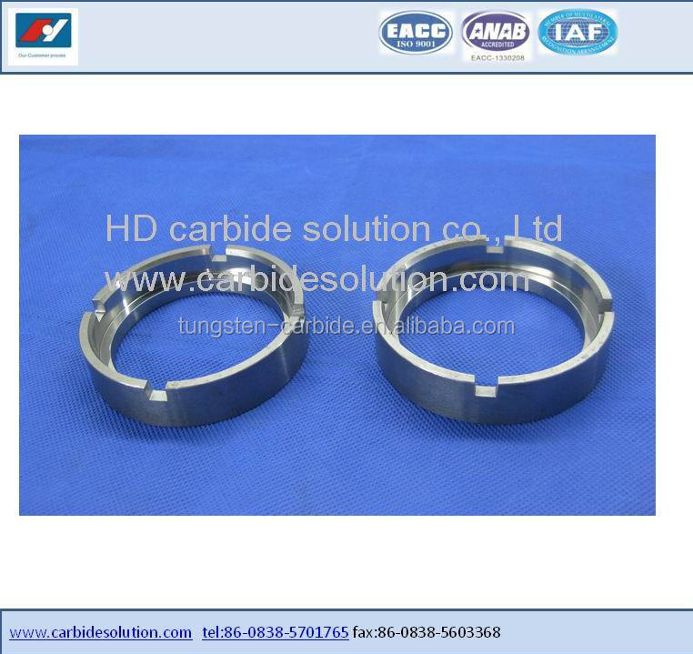 Tungsten carbide /tungsten alloy water pump mechanical seal rings with factory price