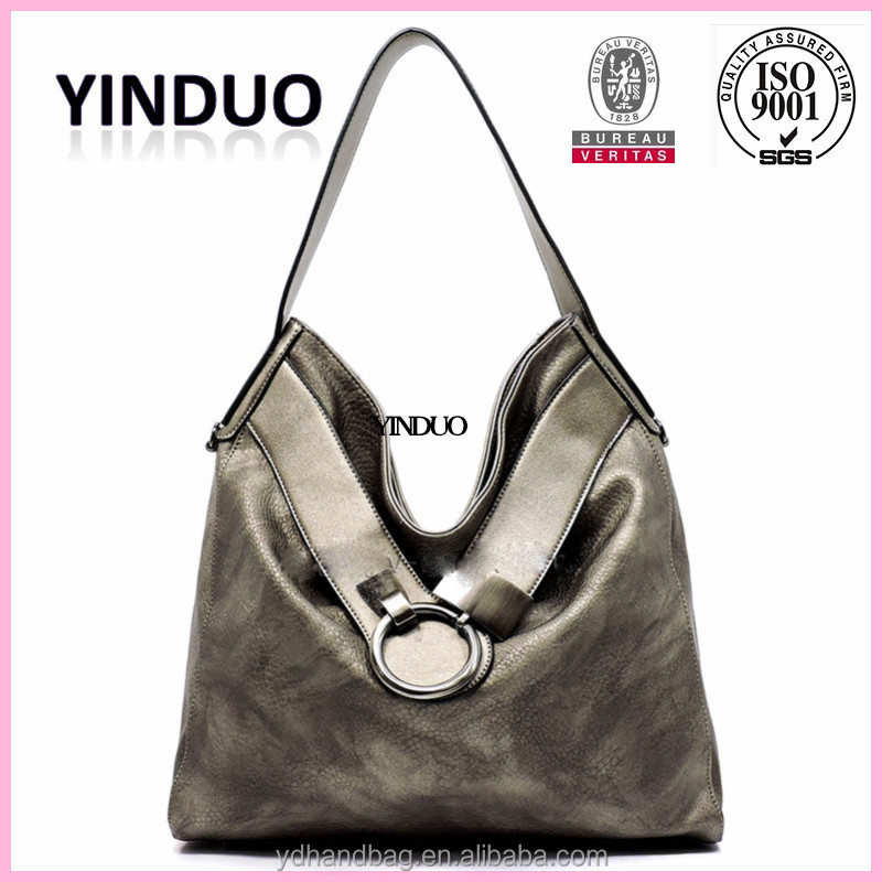 100%Women Hobo Bag Handbag Alibaba Leather Italian