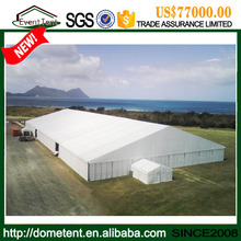 PVC Prefabricated Warehouse House Shaped Tents Large Tent