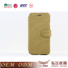 PU Leather cell phone case for iphone 6 with fashionable design