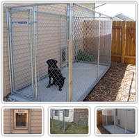 cheap price chain link dog kennel gate