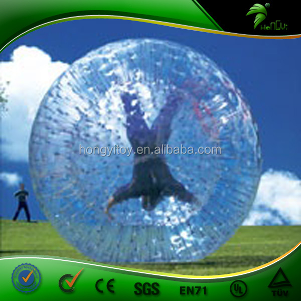 Human Inflatable Rolling Ball / Balls Inflatable Water Rolling Ball /Extreme Sports Inflatable Bowling Zorb Rolling Ball