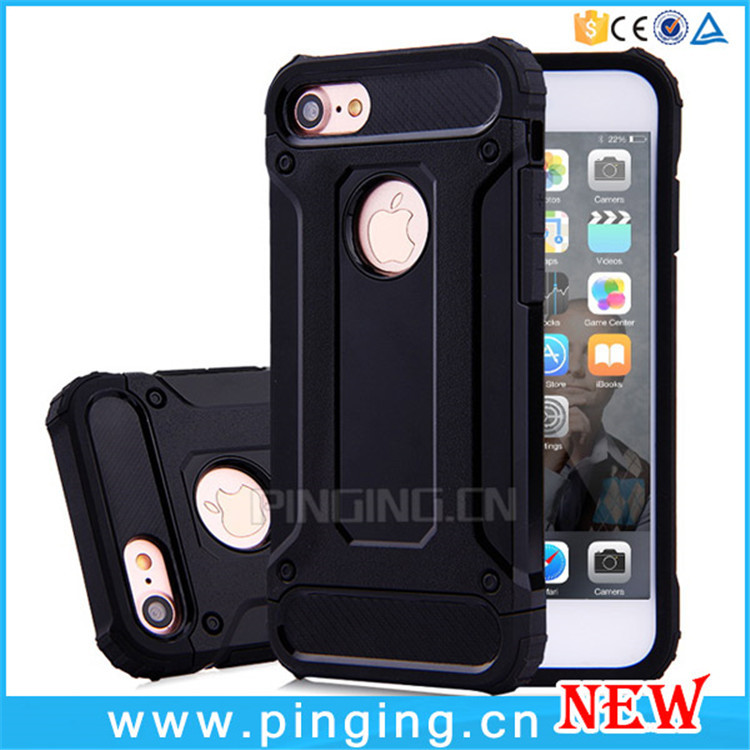 Wholesale Rugged Impact Hard Armor Case For iPhone 7 7Plus Back Cover, For iPhone 7 Case TPU PC