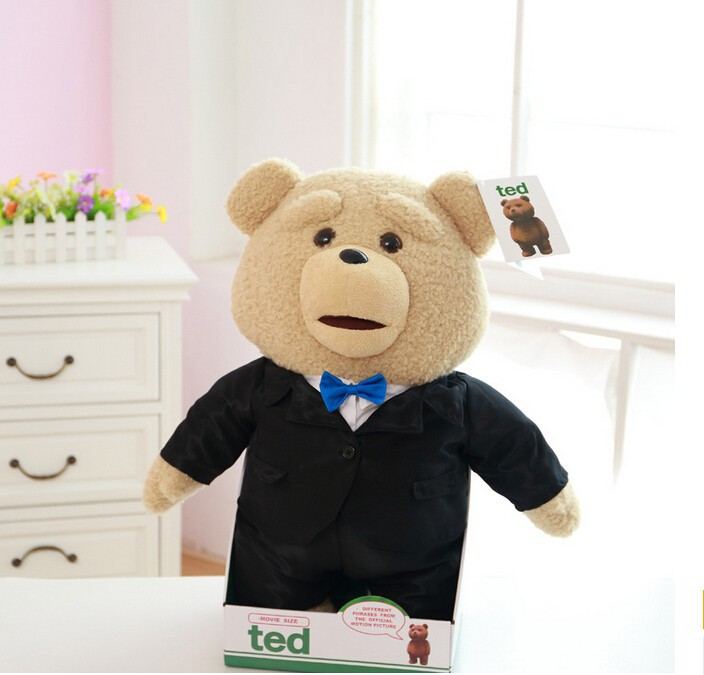 ICTI factory Talking ted plush toy custom electric moving plush toys stuffed teddy bear