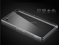 soft tpu case for sony z4 transparent ultra thin 0.3mm thickness tpu case cover