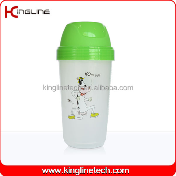 250ml plastic salt shaker bottle (KL-7065)