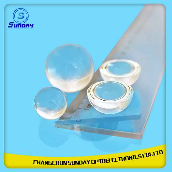 Optical Sapphire Glass Lenses Sphere Lenses Half Sphere Lenses