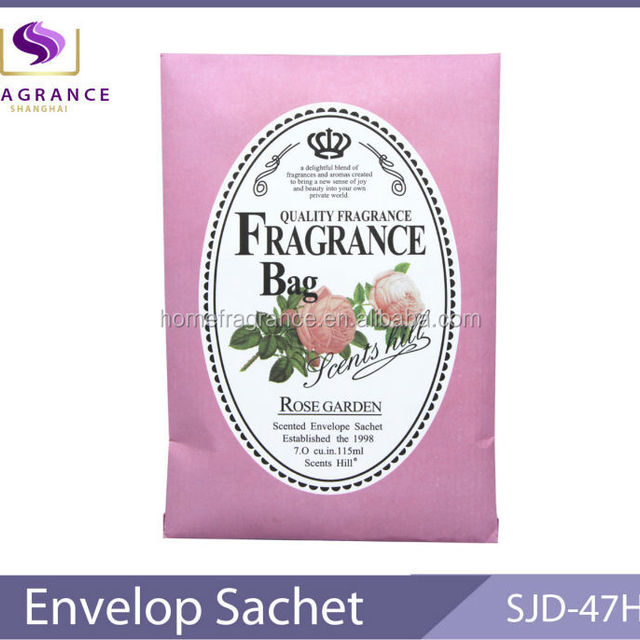 rose garden scented paper fragrant bags air fresheners