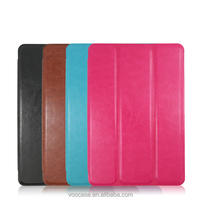 NO MOQ promotion cheap tablet leather case flip cover for apple iPad mini