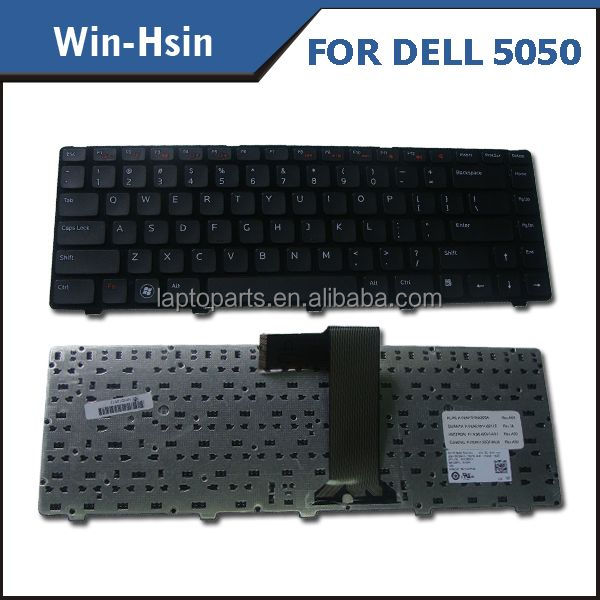 Silicone Keyboard Laptop for Dell M5040 M5050 N5040 N5050 M4110 N4050 M4040 series keyboard