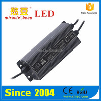 Ripple Less than150mV IP67 2 Years Waterproof Shell DC 100W 120vac to 24v switching power supply