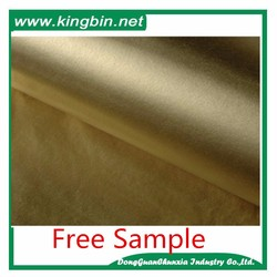 Virgin Pulp Stayle and Offset Printing Compatible Printing White Paper with Gold Logo Printing tissue paper gold