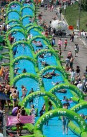 Used water slides/offer inflatable slides/new inflatable slide Z3024