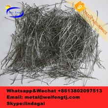 Hot sale high quality value melt-extract stainless steel fiber with low price for construction building