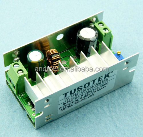200W DC-DC 6-35V to 6-55V Step Up Boost Converter Voltage Charger Module With Aluminum Case