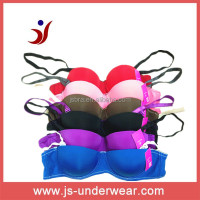 Hot selling colorful Teen girls underwear half cup bras stylish sexy bra,teenage bra