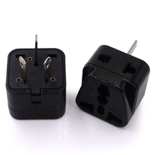 Universal UK USA Euro to Australia China Travel Adaptor AC Power Plug