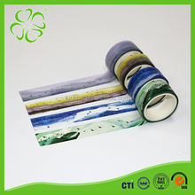 China Unique Design Washi Masking Tape Removable Adhesive Paper
