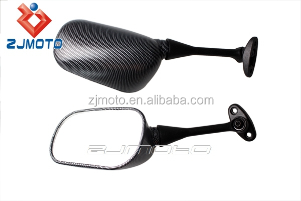 MOTORCYCLE MIRRORS Racing Mirrors For 2003-2008 HONDA CBR 600 1000 RR Carbon