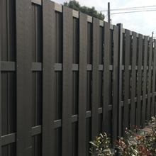 high quality WPC decorative plastic garden fencing screen