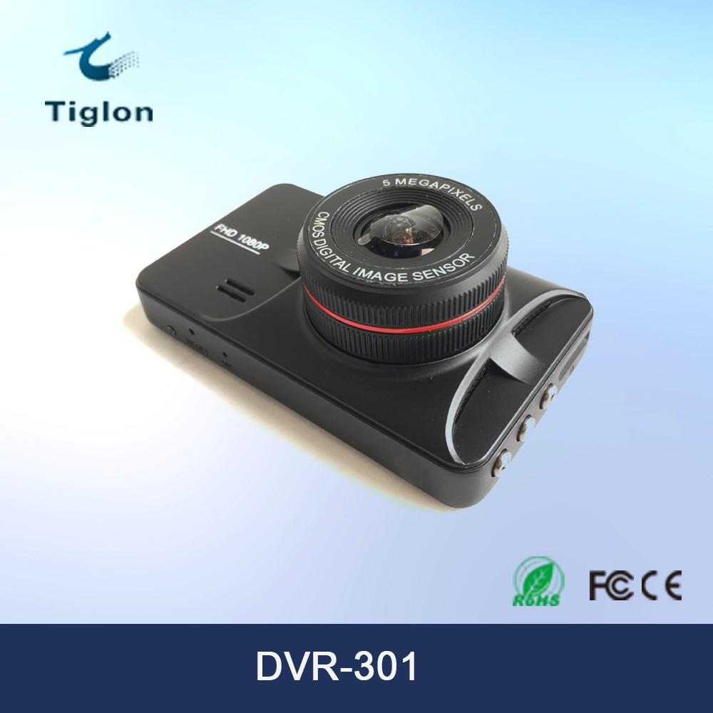 DVR-301 2016 Shenzhen factory Portable 1080P Car DVR Camera Driving Video Recorder With 140 degree view angle