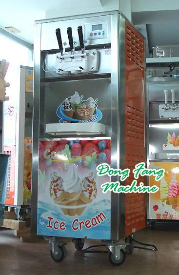 ice cream vending machine BQL818 rainbow icecream machine