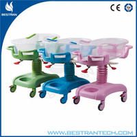 BT-AB101 China hospital beds manufacturer CE ISO medical baby cot dimensions hospital bed