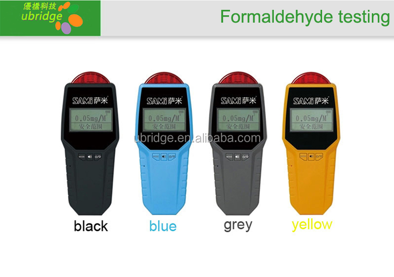 Portable Formaldehyde Gas Detector with battery stayed 3months