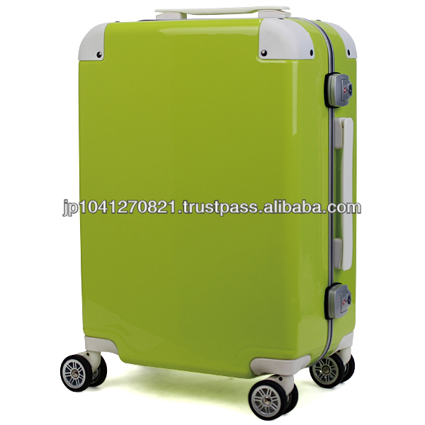 Amazingly lightweight strong build cute suitcase as travelling bag featured in magazines
