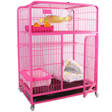 double door breeding cages heavy duty pet cat crate for cats