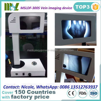 MSLDF-300S portable Vein Imaging Device,vascular imaging navigation instruments with cheaper price