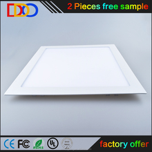 ultra-thin led recessed ceiling panel light with bottom factory price