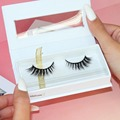 2017 newest factory wholesale 3D real mink false eyelash OEM service