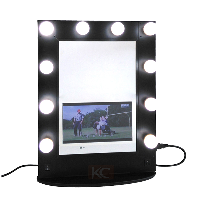 new style hollywood vanity mirror with lights girls makeup artist stylist professional makeup. Black Bedroom Furniture Sets. Home Design Ideas