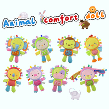 Baby toy new products plush toy appease partner --8 <strong>animals</strong>